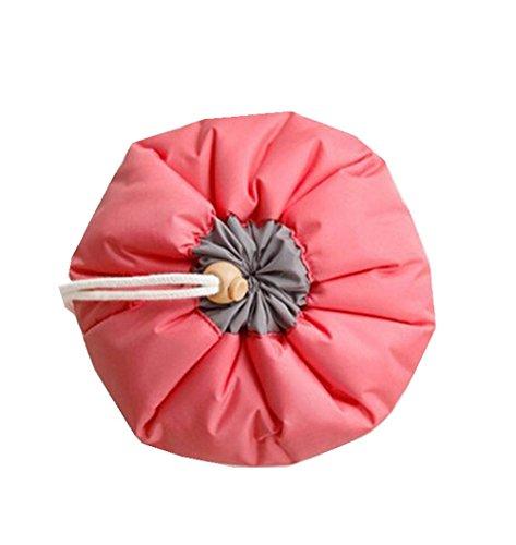 DAYAN Beauty Case Cosmetic coulisse porta fascio di finitura borse da viaggio pacchetto di ammissione color rosso