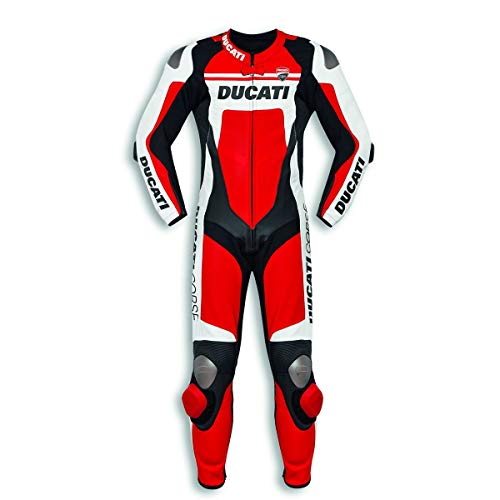 Ducati 9810451 Lederkombi Einteilig Racing Suit Sportkombi CORSE C4 perforiert (50)