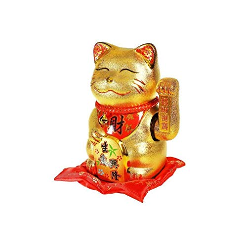 lachineuse Chat Maneki Neko Bras Qui Bouge - Un Chat Porte B