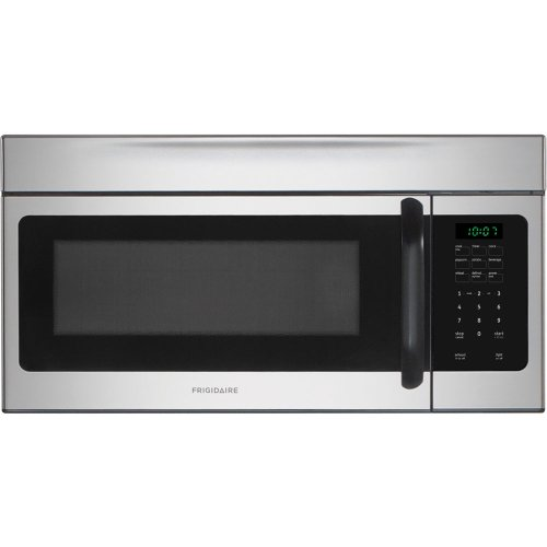 Frigidaire FFMV162LS1.6 Cu. Ft. Stainless Steel Over-the-Range Microwave