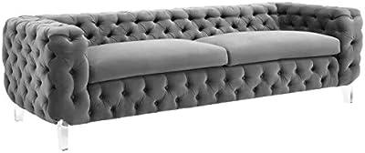 Amazon.com: Iconic Home - Silla de club con patas de ...