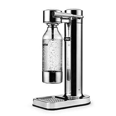 AARKE - PREMIUM CARBONATOR/SPARKLING WATER MAKER (STAINLESS STEEL)
