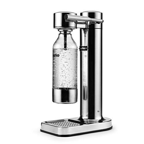 AARKE - CARBONATOR I | SPARKLING WATER MAKER (STAINLESS STEEL)
