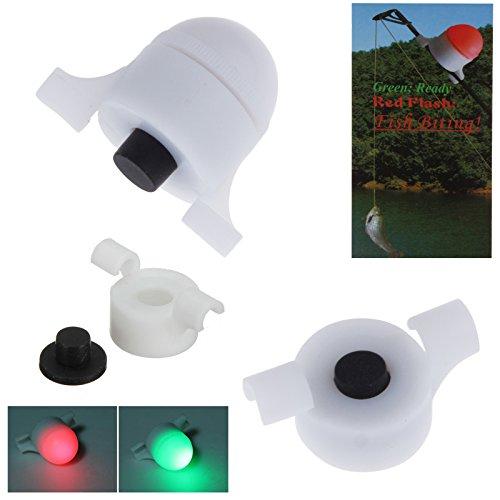 PopHMN Luz de Alarma de Pesca LED, Pesca de mar Impermeable LED...