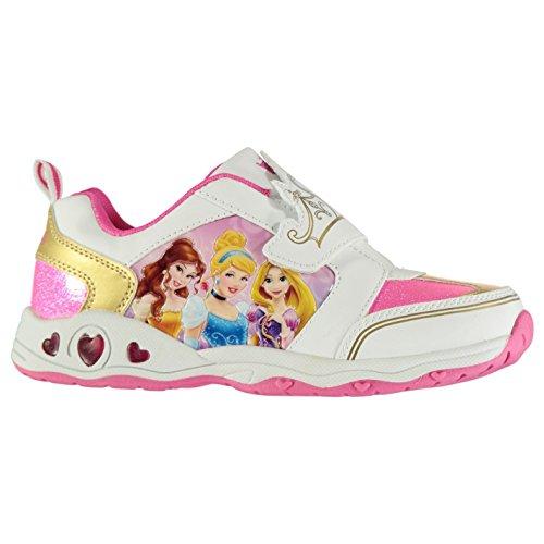Character Light Ups Kinder Leuchtend Turnschuhe Blink Sportschuhe Sneaker Disney Princess C9 (27)