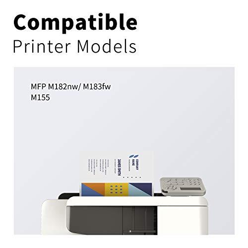 4 LEMERO SUPERX Toner |Kein Chip| Kompatibel für HP 216A W2410A W2411A W2412A W2413A für HP Color Laserjet Pro M155 MFP M182nw M183fw(Bk/C/M/Y)
