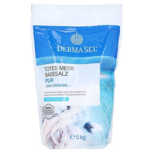 DermaSel Aqua Totes Meer Badesalz PUR, 5 kg