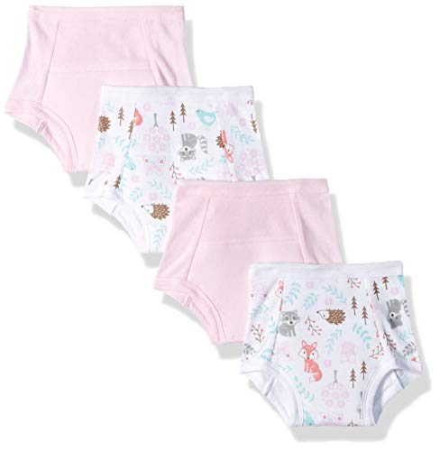 Hudson Baby Baby Cotton Training Pants, 4 Pack
