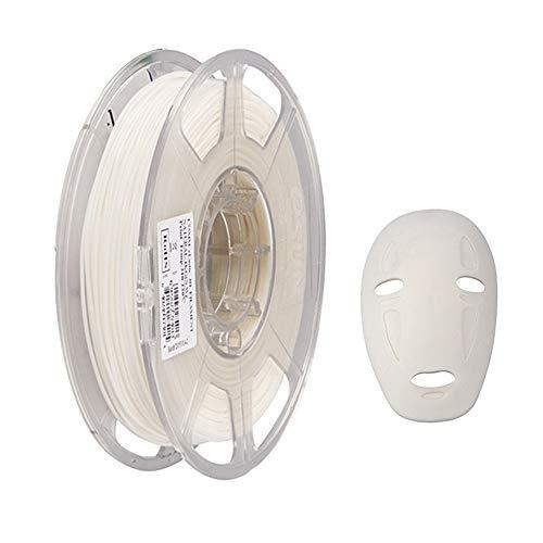 eSUN Filamento TPE Flexible 1.75mm, Filamento TPE 83A de Impresión 3D, Precisión Dimensional +/- 0.05mm, 1KG (2.2 LBS) de Carrete para Impresora 3D, Natural