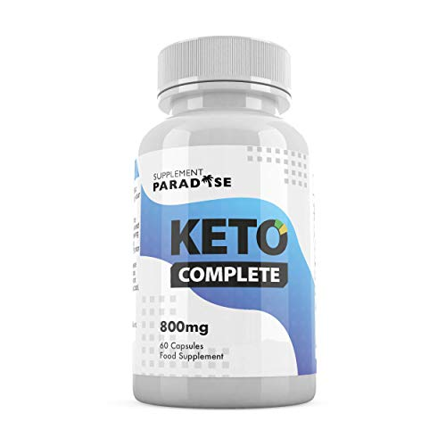 Keto Complete (60 Capsules) - New Keto Weight Loss Formula - 1 Month Supply - SUPPLEMENT PARADISE
