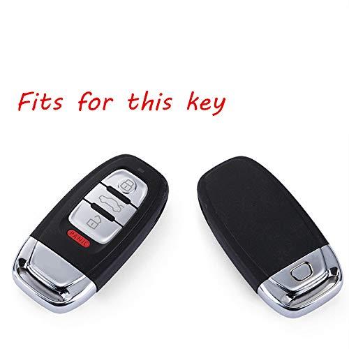LILIGAUN Zachte TPU Autosleutel beschermhoes tas Fit, Voor AUDI A4 A5 A6 B6 B7 B8 A7 A8 Q5 Q7 R8 TT S5 S6 S7 S8 SQ5 autohoezen auto styling Key Case voor Auto