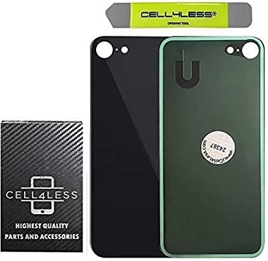 Cell4Less Back Glass Replacement Kit Compatible