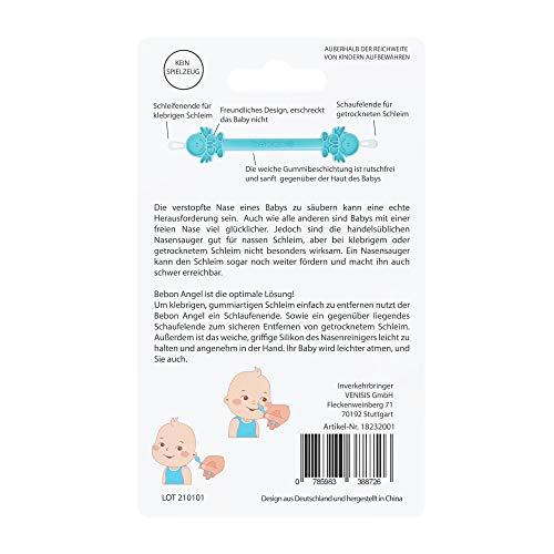 Bebon Angel – der bessere Nasenreiniger und Ohrenreiniger für Babys | Sichtbar wirksamer als Nasensauger/Nasensekretsauger - 5