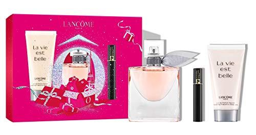 Lancome La vie est belle Geschenkset 30 ml EDP + 50 ml BL + 2 ml Hypnose 01 Noir Mascara