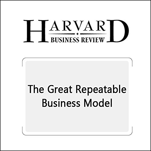 The Great Repeatable Business Model  audiobook cover art
