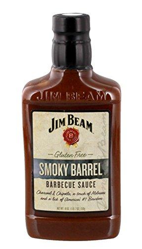 Jim Beam® Smokey Barrel BBQ Barbecue Sauce - 420ml