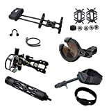 Southland Archery Supply SAS Pro Compound Bow Accessories Upgrade Package (Black Pro Package)