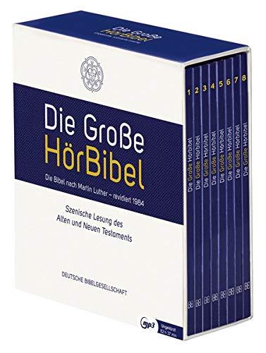Die Große HörBibel. Ungekürzte, szenische Lesung. 8 MP3-CDs: Die Bibel nach Martin Luthers Übersetzung, revidiert 1984. Ohne Apokryphen