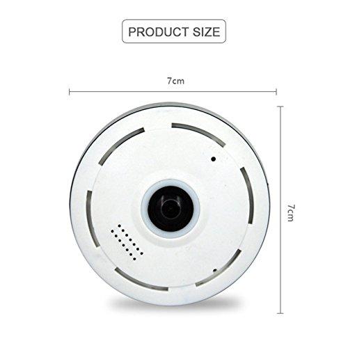 WiFi IP Kamera von/Sicherheitskamera Mit Bewegun Elder / ¨¹berwachungskamera Brille/WiFi Kamera Wasserdicht/Dome Kamera WLAN K-EC11I6, Unterst¨¹Tzung Video Play/Mobile Erkennungsalarm,