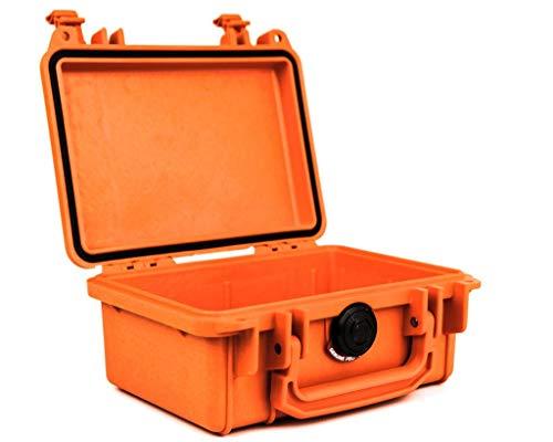 PELI 1120 - Maletín para cámara de Ver Fotos, Color Naranja