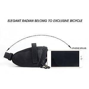 RHINOWALK Sacoches de Selle,Sac de selle de bicyclette, vélo étanche sac de selle vélo, sac de selle ultra-léger de bicyclette Sac de route vélo intérieur sacoche