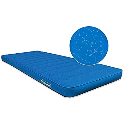 Lightspeed Outdoors XL Super Plush FlexForm Premium Self-Inflating Insulated Sleep and Camp Foam Pad | Extra Thick Sleep Mat (Deluxe 4 Inches Thick)