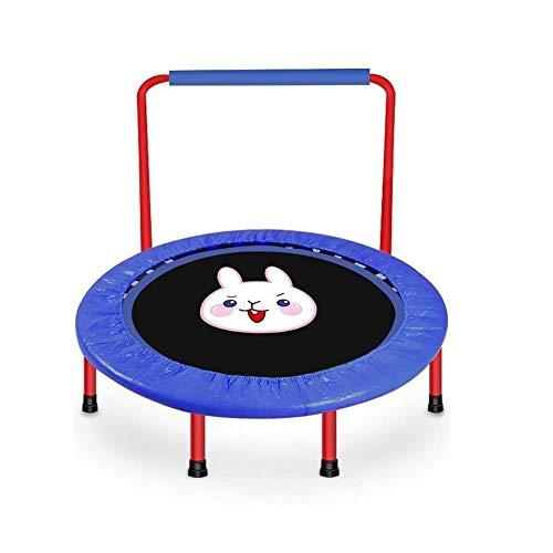 Fitness Trampolines Trampoline - Thuis Fitness Trampoline Met Webbing En U-armleuningen Trampoline Voor Kinderen Thuis Cartoon Bounce Bed Binnen Trampoline