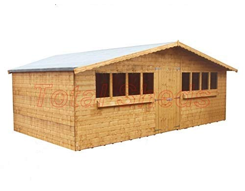 Total Sheds 20ft (6.00m) x 10ft (3.0m) Garden Shed Summer Shed Timber Shed