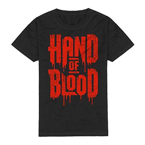 HandOfBlood - Logo Schwarz T-Shirt (XXL)