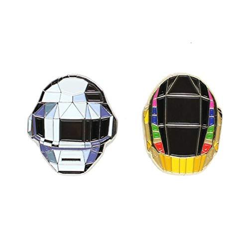 """Daft Punk Enamel Lapel Pins (1"""")"""