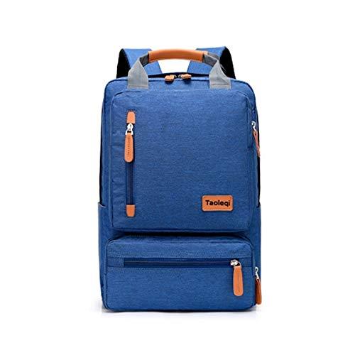 Casual Business Notebook Rugzak Light 15,6 inch laptoptas anti-diefstal rugzak reisrugzak, blauw (blauw) - MKHB-3912058564