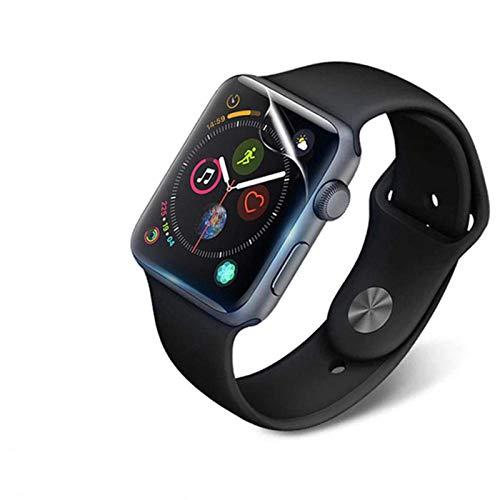 Película protectora completa para Apple Watch Protector de pantalla 42 mm 44 mm 40 mm 38 mm para iwatch SE 6 5 4 3 2 1 Películas sin vidrio templado