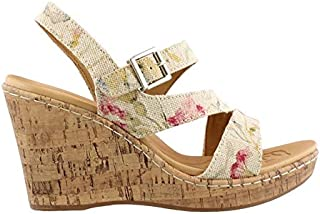 Best floral wedge sandals Reviews