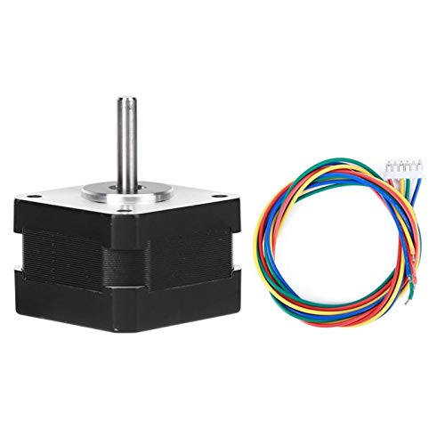 KUIDAMOS NEMA 17 Stepper Motor Power Tool Accessories Electric Motor 17HS2408S Stepper Motor 4 Pin Cable for Polishing Machine for Milling Machines for Belt Machines
