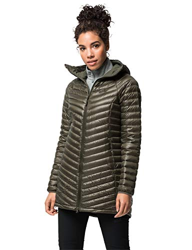 Jack Wolfskin Damen Atmosphere Coat W Daunenmantel, Granite, M
