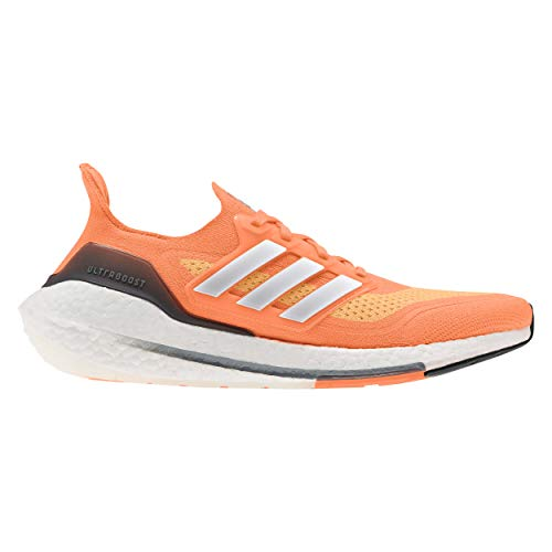 adidas Ultraboost 21, Zapatillas para Correr Hombre, Screaming Orange/FTWR White/Blue Oxide, 41 1/3 EU