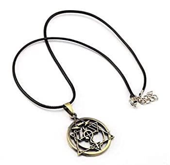Full Metal Alchemist Necklace - Homunculus Circle Necklace