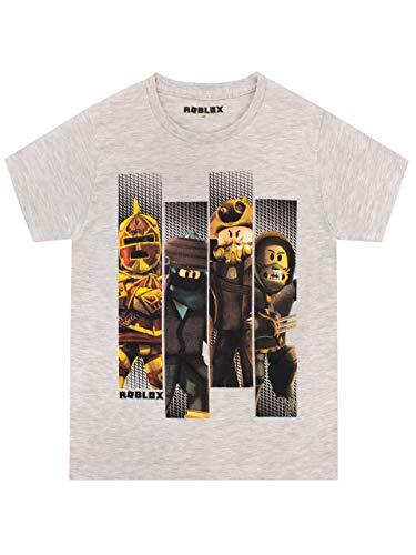 Roblox Camiseta para Niños Gaming Gris 12-13 años