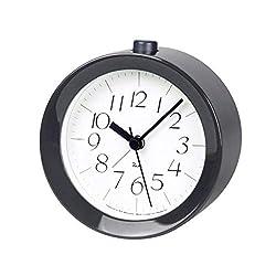 Lemnos Riki Wooden Alarm Clock Gray