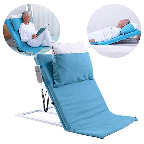 WishY Electric Adjustable Angle Back Rest,Post Surgery Rest Elevation Mattress Tilter, Elderly,Pregnancy, After Surgery Recovery, Elderly Power Lifting Bed Backrest,Blue