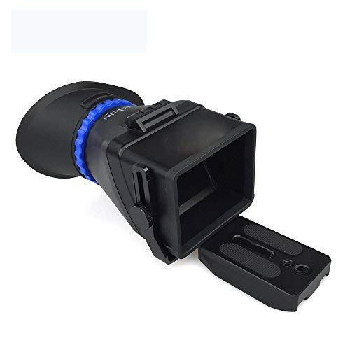Starbea Viewfinder Photo Viewfinder Universal for Nikon Canon Sony 3.2' DSLR Camera 3X Zoom 3X Magnification viewfinder Eyepiece DSLR viewfinder Eyecup