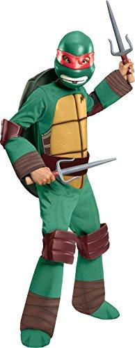 Teenage Mutant Ninja Turtles Deluxe Raphael Costume, Small
