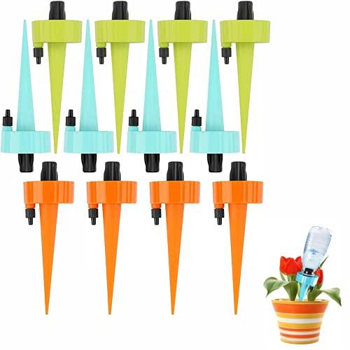SunAurora Sistema Automático de Riego de Plantas con Interruptor de Válvula de Control Ajustable, Plantas de Jardín, Kit de Riego por...