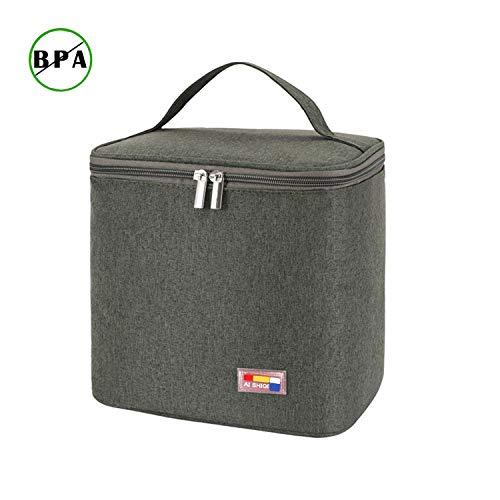 Kühltasche Thermotasche Kühltaschen Boxen Picknicktasche Lunchtasche Mittagessen Tasche Isoliertasche für Lebensmitteltransport Faltbar Wasserdicht SH2
