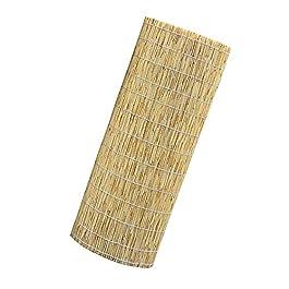 Paravent en Roseau, Clôture en Bambou, Stores en Rotin, Résistant Aux Intempéries Et Robuste, Stores Extérieurs, Panneau…