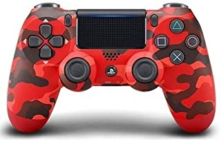 Taloyer New Color PS4 Controller Sony Dualshock 4 Controller Joystick PlayStation4 (Color : RED CAM.)