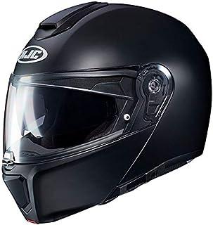 HJC Helmets Herren Nc Helmet, Schwarz/Orange, L