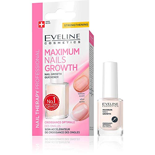 Eveline Cosmetics Nail Growth Quickener, 1er Pack (1 x 12 ml)