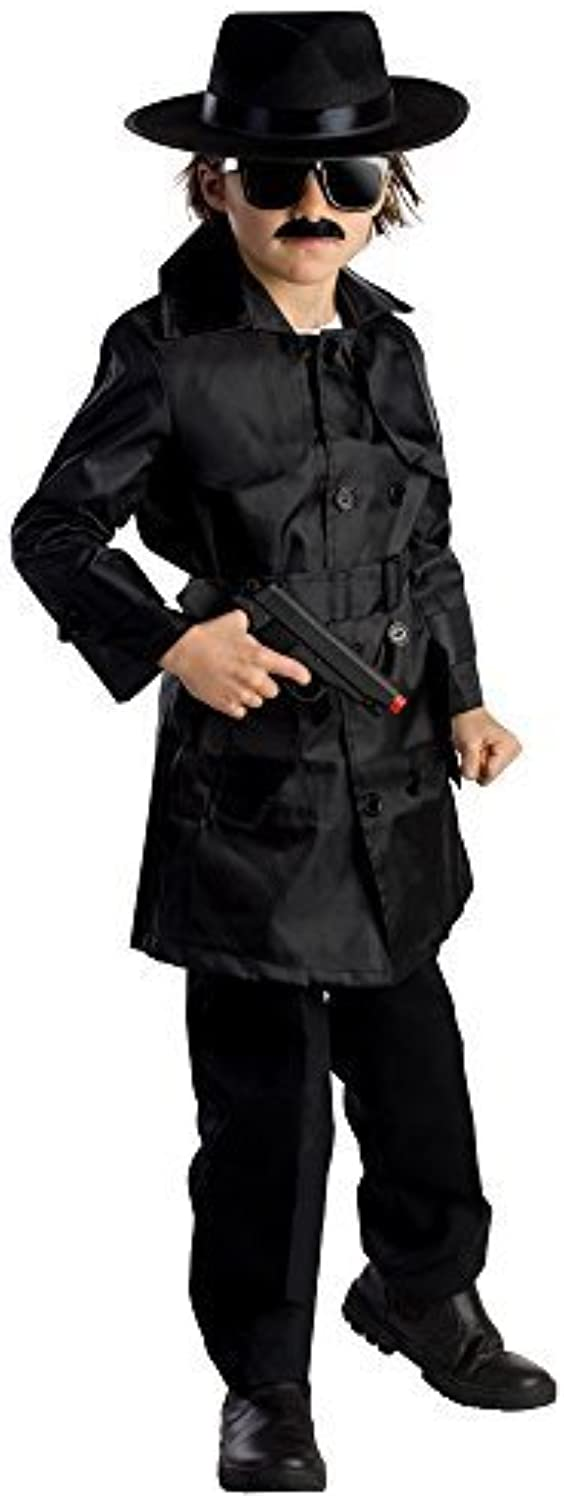 Spy Agent Costume  Size Toddler 4 by Dress Up America