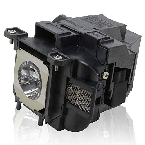 PanPacSight Bombilla Proyector ELPLP78 Compatible con Epson EB-945 955W 965 98 S17 S18 SXW03 SXW18 W18 W22 W28 X03 S03 X18 X20 X24 X25, EH-TW490 5200 570, EX3220 5220 5230 6220 7220 7230 7235 Lampara